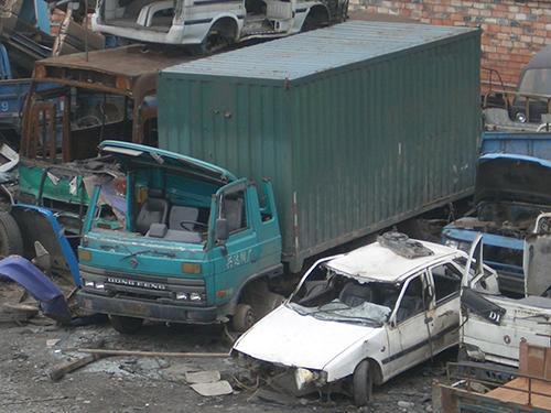 长沙报废汽车回收拆解流程
