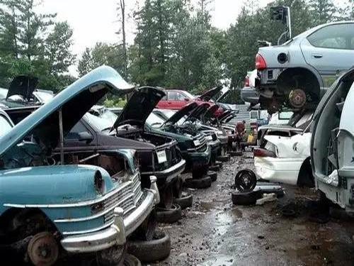 """注意啦!你的报废汽车当废钢卖吗?现在实行""""一车一价""""啦!"""