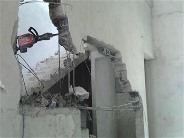 成都双流房屋室内拆除