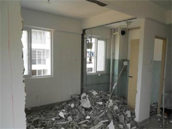 成都锦江区房屋室内拆除