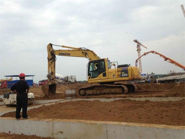 成都郫县建渣回填施工