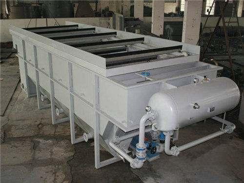 平流式气浮机工作原理和结构特点