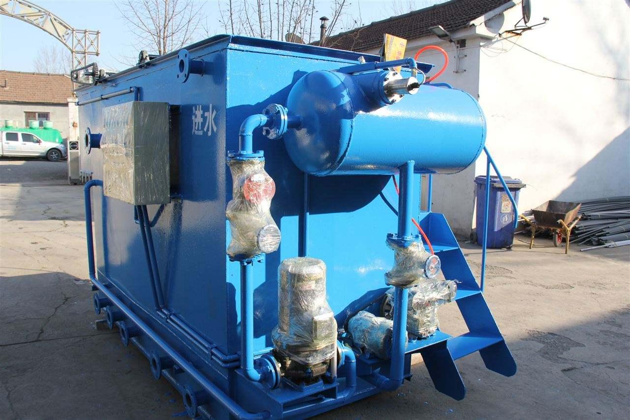 一体化溶气气浮机污水处理装置的组成有哪些
