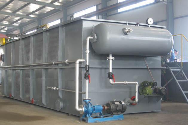 气浮设备在污水处理领域的应用