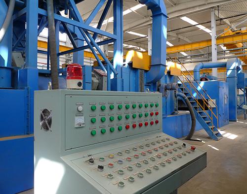 钢板型材预处理线