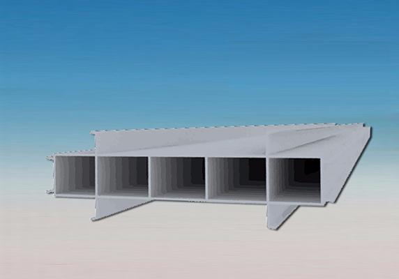 400MM宽结构拉缝板
