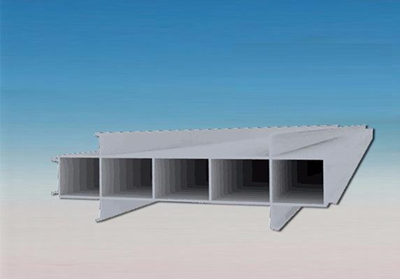 350MM宽结构拉缝板