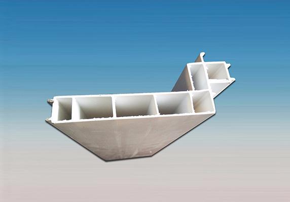 横向400MM宽PVC结构拉缝板