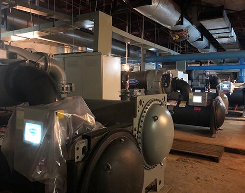多联机中央空调安装