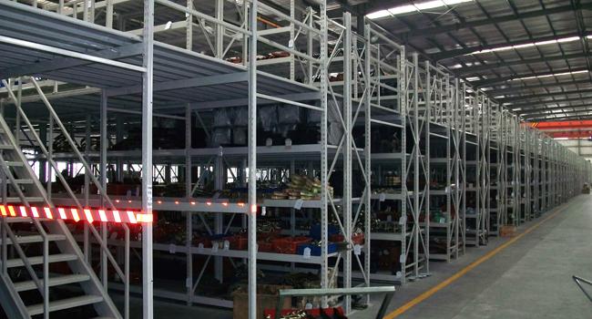青岛室内阁楼式货架厂家