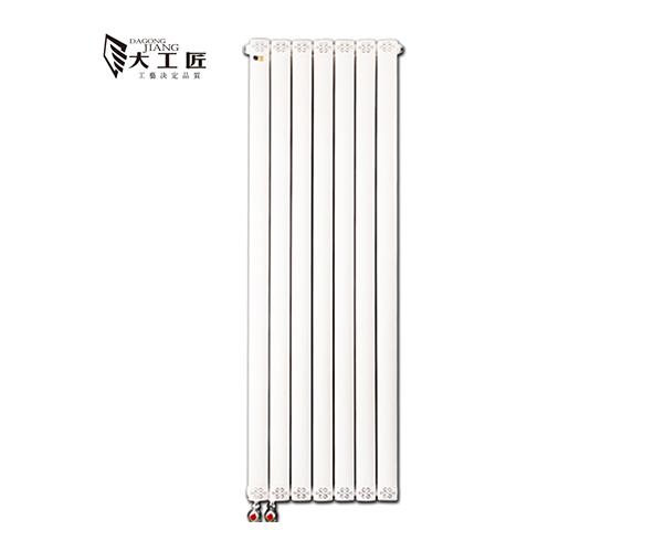 铜铝复合柱翼型散热器
