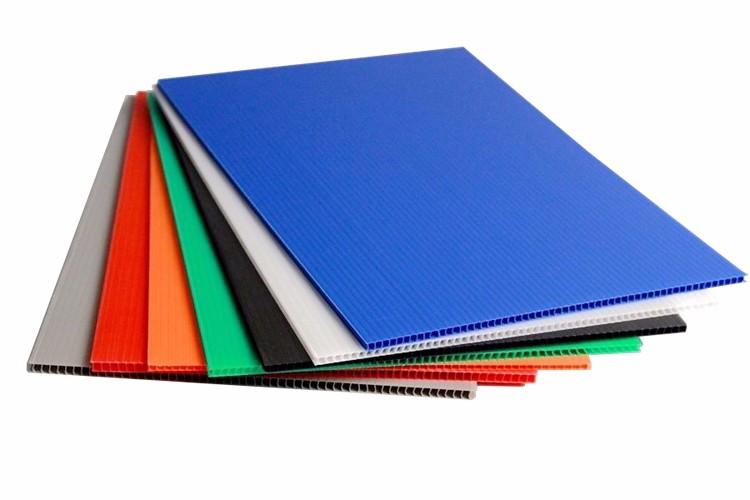 彩色中空隔子板