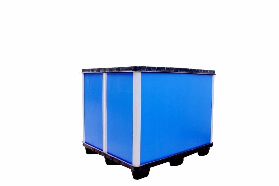 中空板环保防水围挡箱