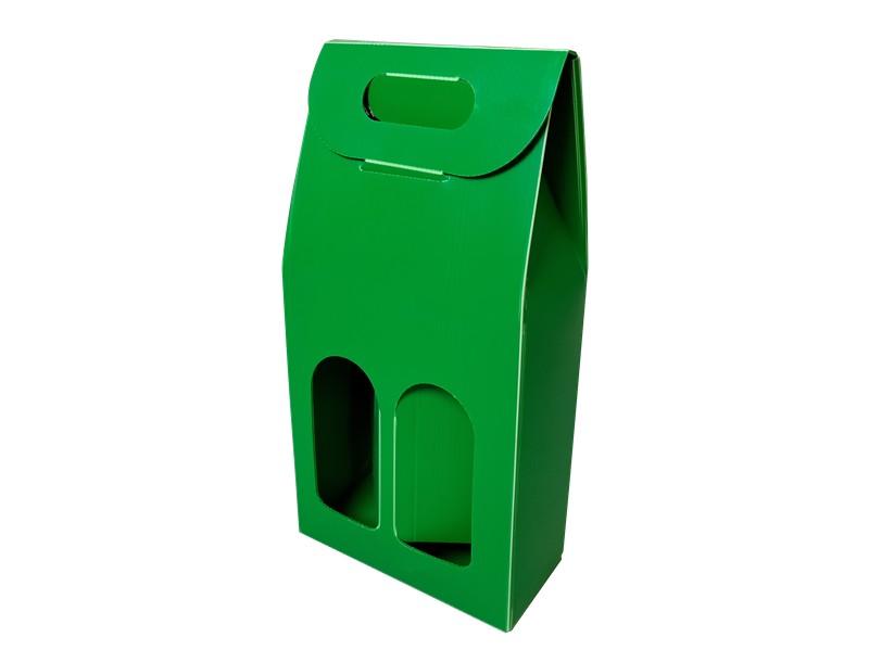 中空板手提礼盒塑料箱