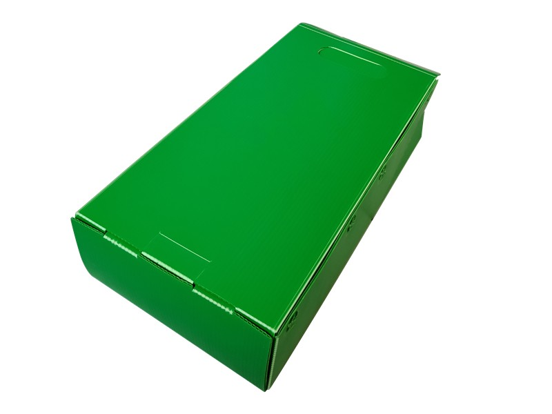 中空板手提礼盒塑料箱厂家