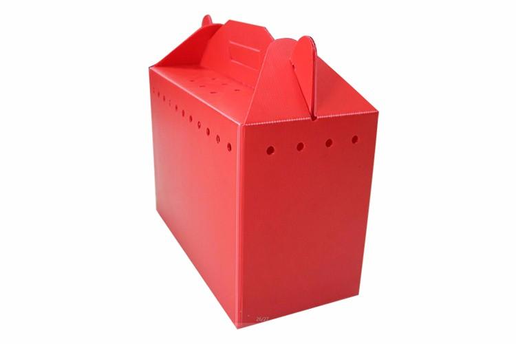 彩色中空板塑料箱