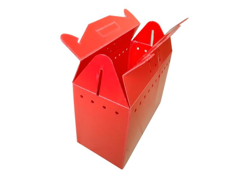 青岛彩色中空板塑料箱