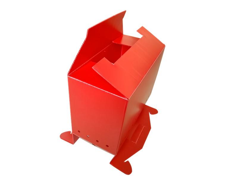 彩色中空板塑料箱厂家