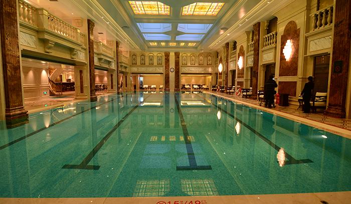 莫利斯酒店泳池