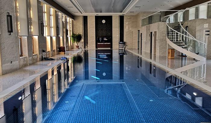 泰安别墅游泳池