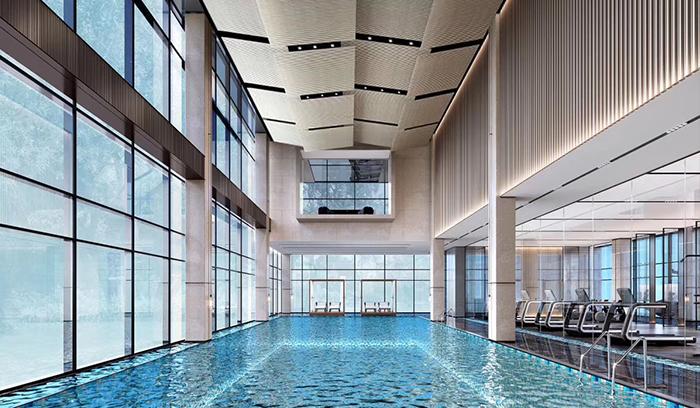 祥生未来城游泳池