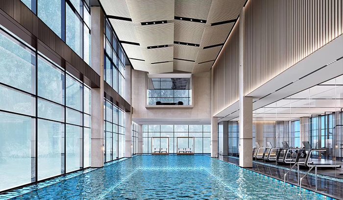 室内恒温泳池可以使用什么设备加热?