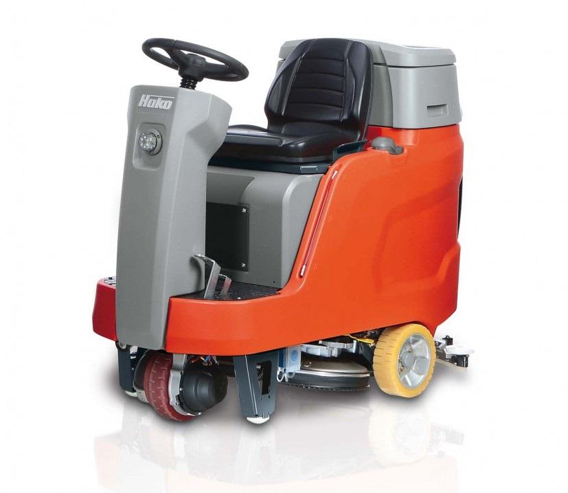 紧凑型驾驶式洗地机B75R