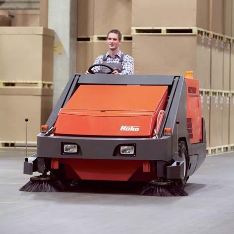 驾驶式洗地机案例