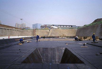 黄岛空间防水工程案例