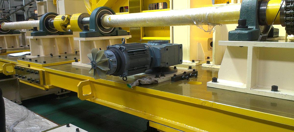 青岛蜗轮蜗杆减速机生产厂家案例