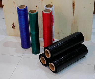 彩色塑料缠绕膜