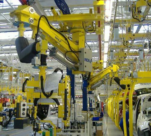 智能提升机-气动机械手