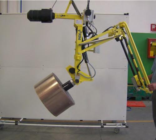 助力机械手-纸张塑料卷轴