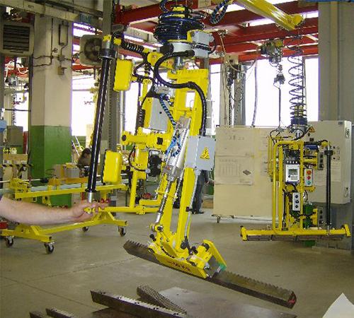助力器制造商说明注塑机械手的优点