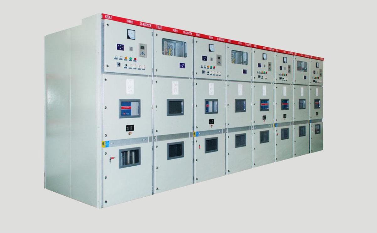 KYN28A-12型中置室铠装金属封闭高压开关柜
