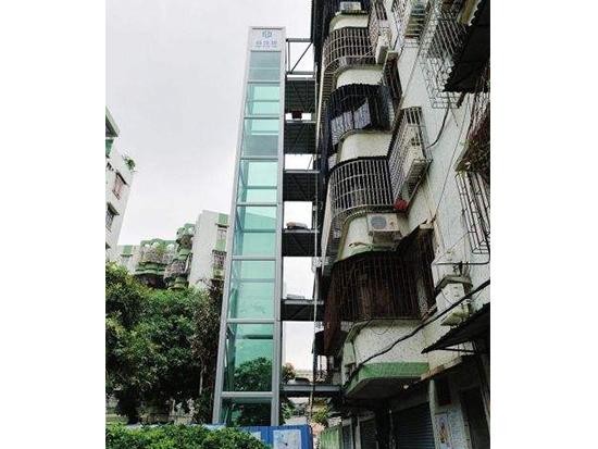 福州旧楼改造电梯