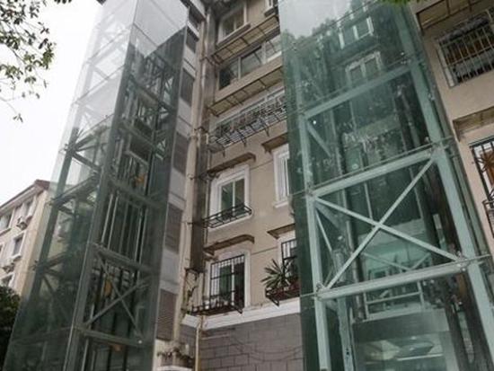 老楼加装电梯改造
