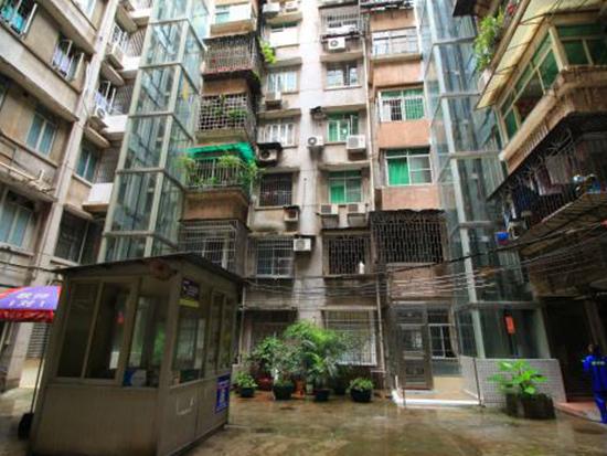 福建老楼加装电梯