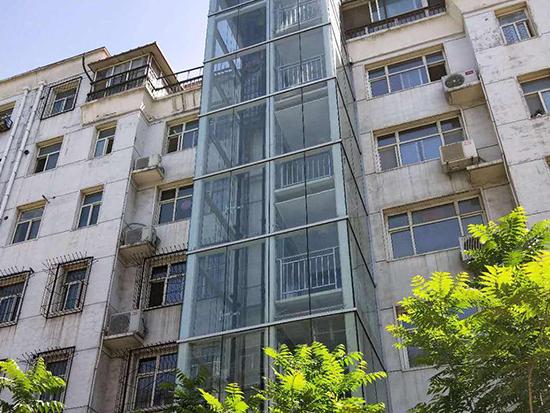福建老楼加装电梯改造