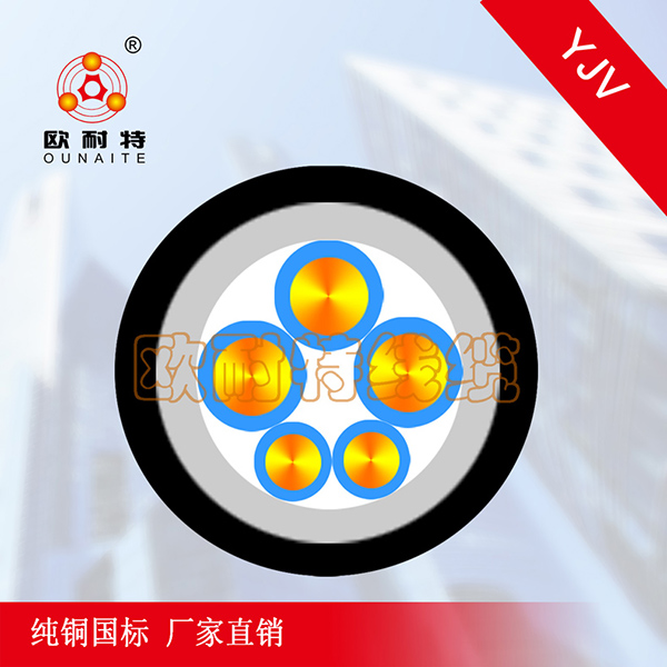 YJV 3*n+n*n低压铜芯电线电缆
