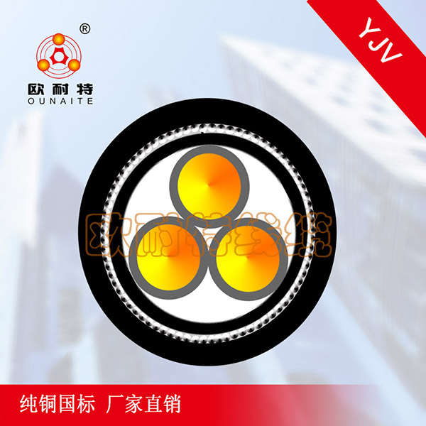 YJV22 3Xn铜芯电线电缆