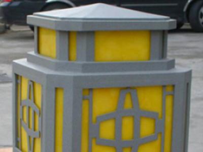 宫廷式柱头灯