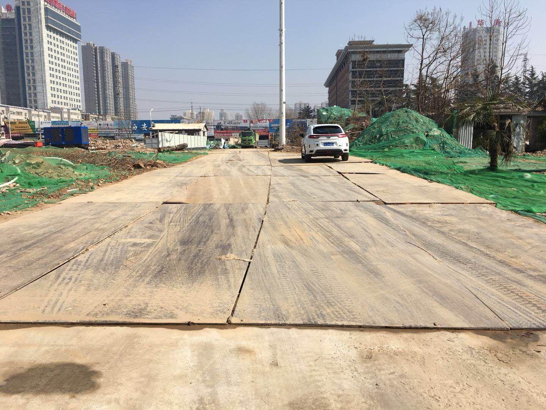 上海綠地集團鋪路鋼板租賃