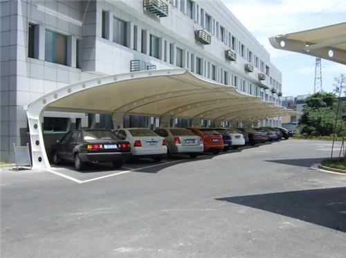 青海膜结构车棚厂家