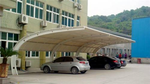 青海膜结构车棚生产厂家