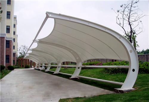 青海膜结构车棚材料