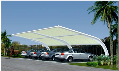 青海膜结构车棚建筑