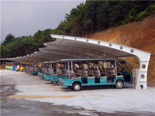 西藏膜结构车棚厂家