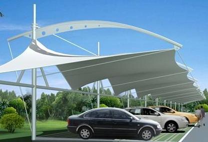 青海膜结构停车棚厂家