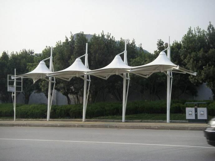 西宁膜结构雨棚厂家